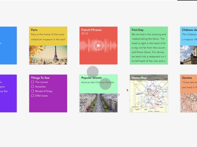Zoho Notebook Is a Card-Based Evernote-Alternative for Android, iPhone, and Mac