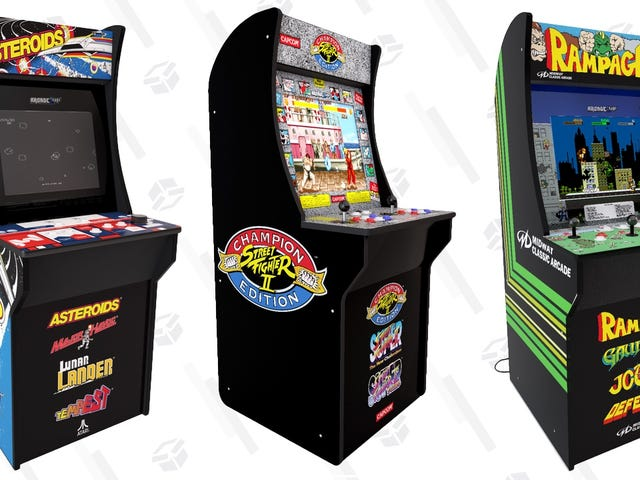 Releasing Tomorrow: Arcade1Up's Stunning Arcade Cabinets Are Finally Back In Stock