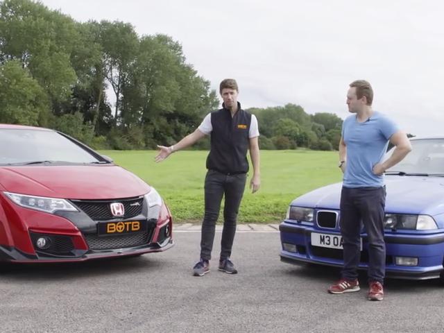 Εδώ είναι πώς ένα 20-year-old BMW M3 είναι σε καλό δρόμο ενάντια σε ένα νέο πολιτικό τύπο R