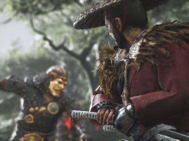 Samurai Game Ghost of Tsushima Is Gorgeous