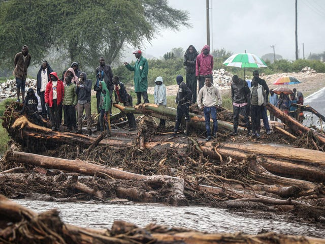 Những cơn mưa 'chưa từng thấy' ở Đông Phi mang đến cái nhìn thoáng qua về tình trạng khẩn cấp khí hậu