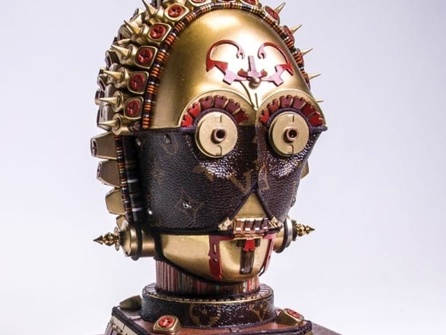 Star Wars Meets High Fashion in These Sculptures Crafted Using Designer Bags
