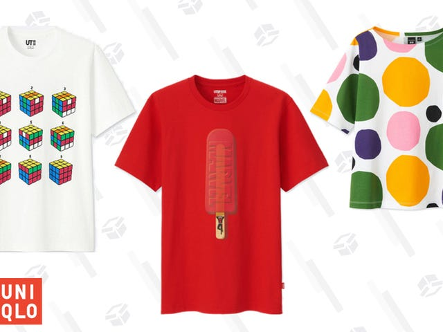 All of Uniqlo's Awesome Graphic Tees Are Just $10
