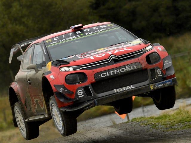 La légende du rallye moderne Citroën quitte le championnat du monde des rallyes car le pilote Sébastien Ogier est parti