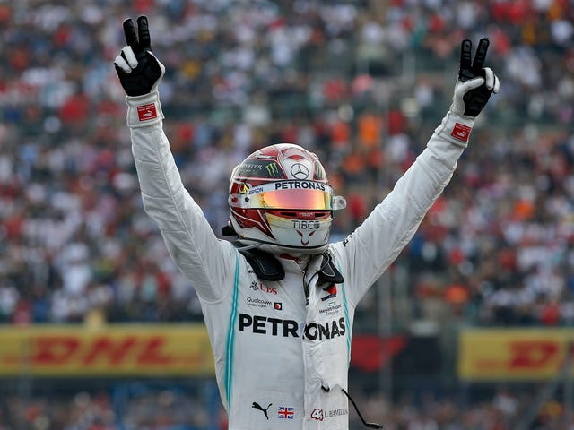 Lewis Hamilton Pulls Out A Victory In Mexico, But He Didn't Secure The Driver's Championship