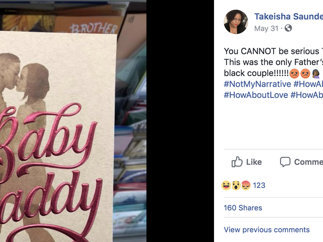 Target Pulls 'Baby Daddy' Father's Day Card