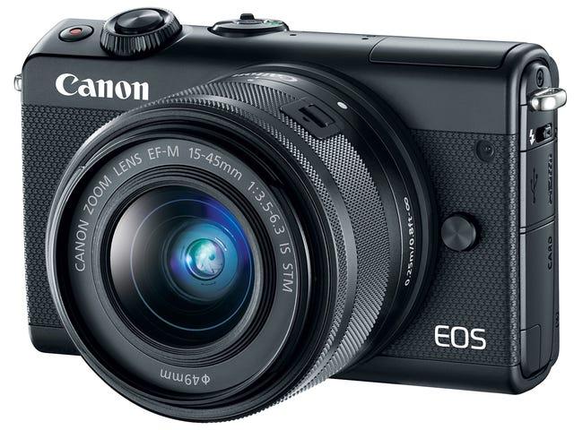 Το EOS M100 της Canon είναι μια άλλη αποθετική προσπάθεια σε μια κάμερα χωρίς κάτοπτρα
