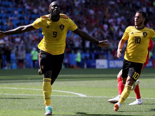 Eden Hazard And Romelu Lukaku Have Belgium Cooking With Gas