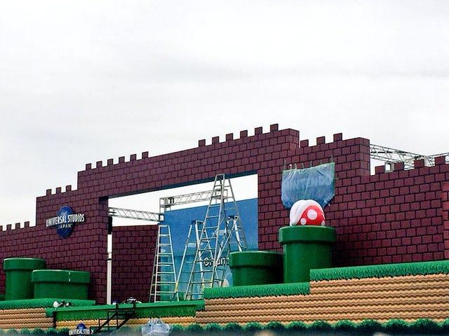 Universal Studios Japan dostaje scenę Super Mario Bros.