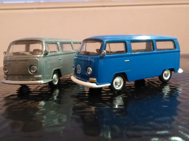 Hot Sixty 4th: (tydzień chleba) Greenlight '68 Autobusy VW Type 2