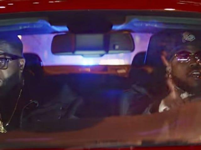 Kør juvelerne, Big Boi og Danger Mouse, gå et spin i Baby Driver video