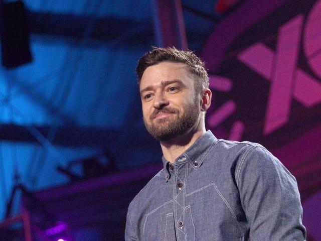 Justin Timberlake er en hvit mann