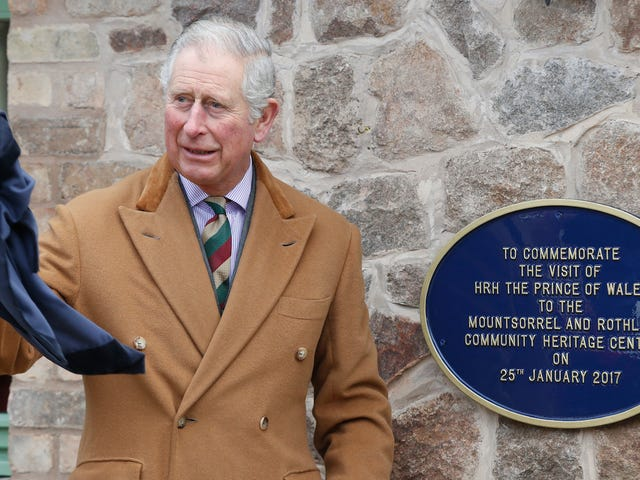 Prince Charles Knows a Towel Is the Most Massively Useful Thing an Interstellar Hitchhiker Can Have
