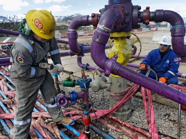 EPA最终承认Fracking污染饮用水