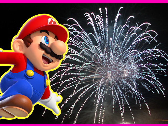 मारियो निर्माता प्रतियोगिता: नया साल मुबारक हो!