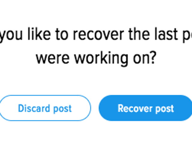 Recover Your Lost Work with Improved Autosave