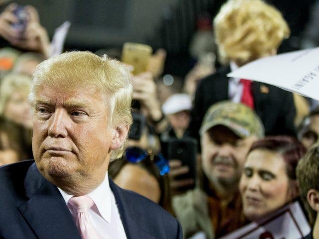 """""""Voi paskaa"""", sumisee GOP, kun Donald Trump vauhdittaa ehdokkaan saamista lähemmäksi"""