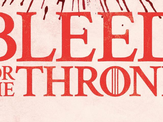 <i>Game of Thrones</i> celebra a morte em uma unidade de sangue bizarra PSA