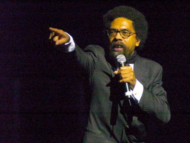 Somebody Take Away Cornel West's Pens, Paper, Computer Passwords, Scarves, Glasses, Etc...