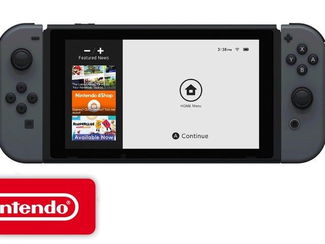 Ang isang bagong Nintendo video ay nagpapakita ng eshop na ang mga tao na may console maaga ay hindi pa rin ma-access