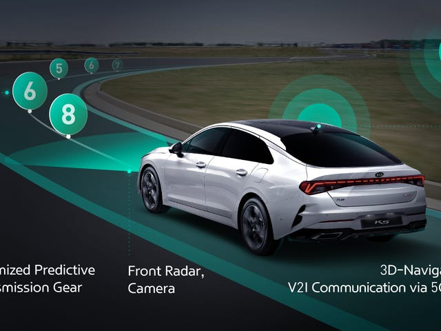 Hyundai Develops Transmission That Can See Into The Future, Kind Of
