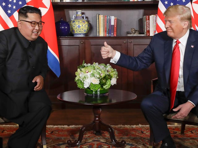 South Korea's President Says Trump Has a Friend Crush on Kim Jong Un, Which Will Certainly End Well