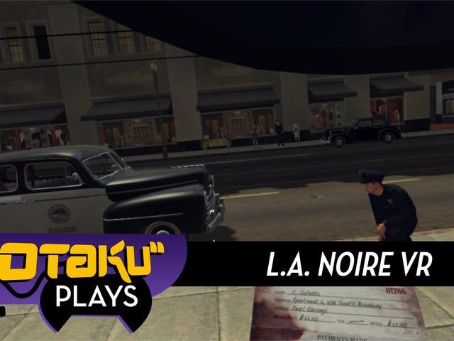 <i>L.A. Noire VR</i> est super, sauf pour le chapeau Damn