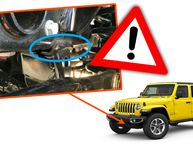 New Jeep Wrangler Frame Welds are Failing and Now FCA Is Issuing a Recall [Updated]