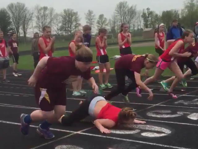 Well, This Is The Worst Way To Start A Race