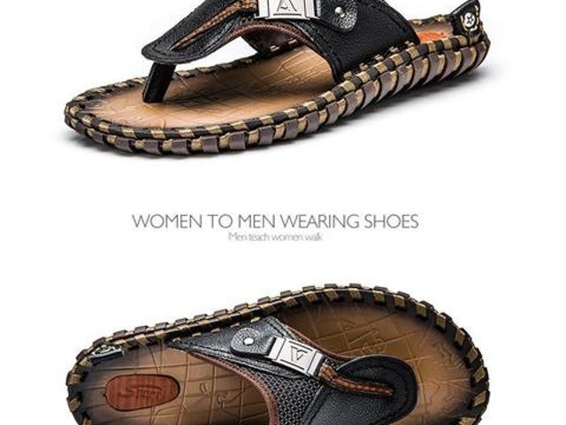 GET YOUR LEATHER SANDALS @ Shopatronics Today