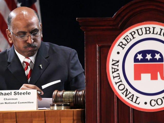 元RNC議長のマイケル・スティールは、人種差別主義者に衝撃を与えた。