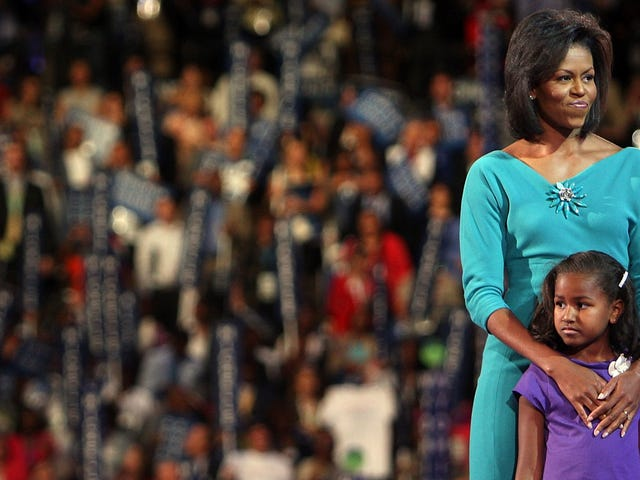 They Grow Up So Fast: Michelle Obama Talks About Taking Sasha to College, Says 'We Didn't Want to Embarrass Her'