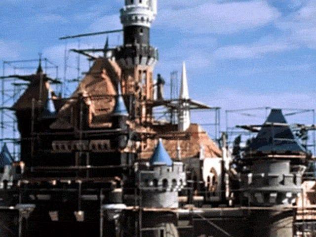 Cómo se construyó Disneyland en la década de 1950