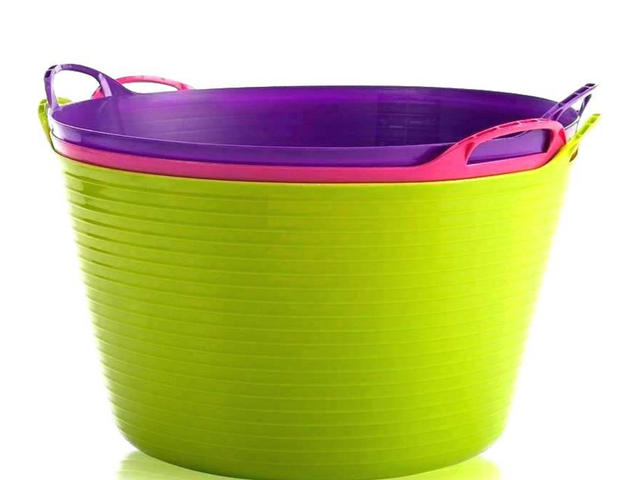Here's the Bucket Hack That's Getting Kids to Put Away Their Stuff