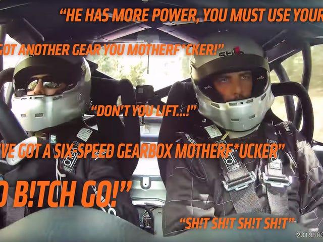 誰もがオーストラリアのラリー共同ドライバーのライフコーチを必要としている