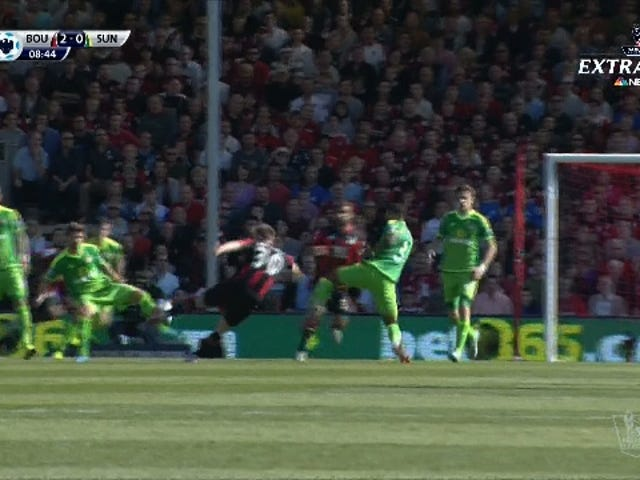 Bournemouth takımından Matt Ritchie Hammers Home Sezonun En Şaşırtıcı Hedeflerinden Biri