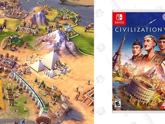 Forget Animal Crossing, Take Over Entire Kingdoms With Civilization VI, Now $15 for the Nintendo Switch