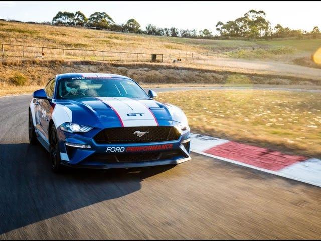 Ford Mustang заменяет гоночный автомобиль Falcon