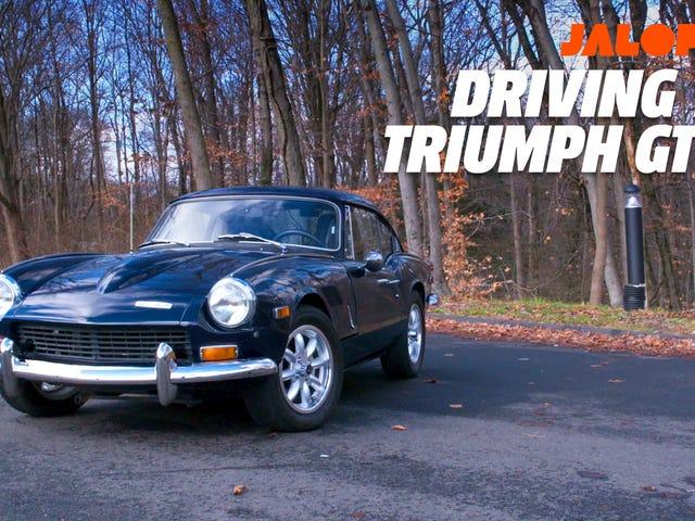 Triumph GT6 + jest dowodem Old British Sports Cars są tego warte