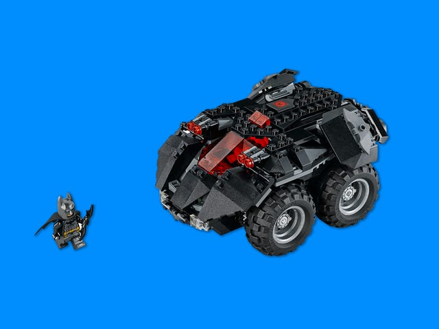 Lego's New Remote-Controlled Batmobile Looks Fun as Heck
