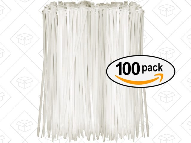 Stock Up On Zip Ties With This $4 Pack Of 100