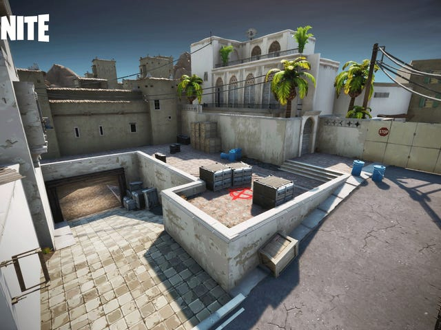 Counter-Strike's Dust, Remade In Fortnite