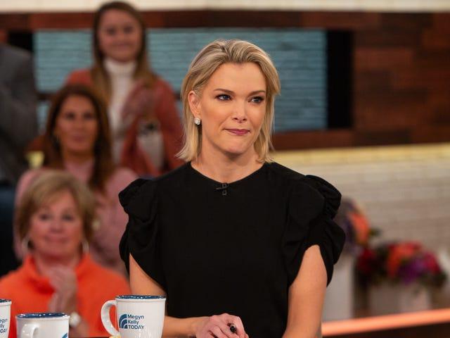 NBC, <i>Megyn Kelly Today</i> iptal etti, gelecek hafta onlarla bir işi olabileceği gibi davranıyor.