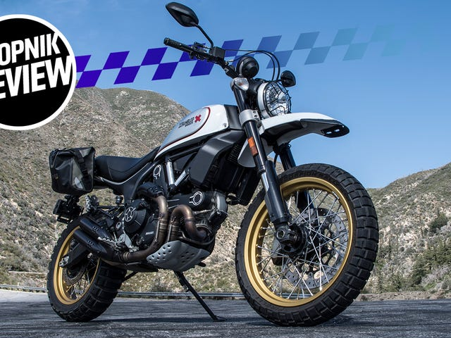 The Ducati Scrambler Desert Sled Is Fun To Ride But It's Best At Looking Cool