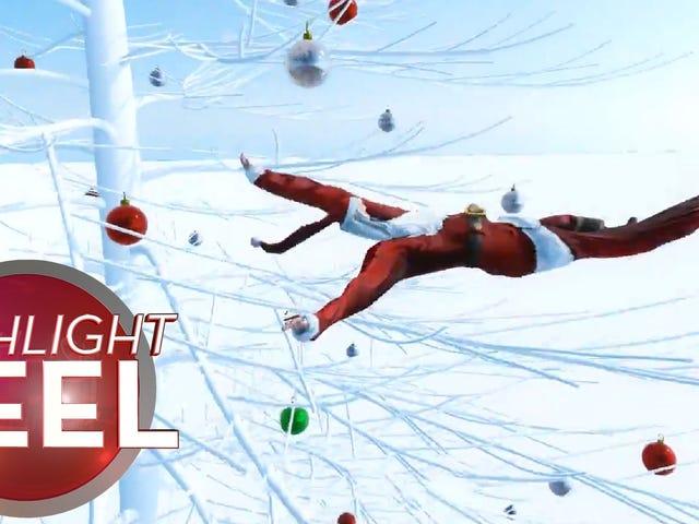 <i>Wreckfest</i> Santa变身为<i>Wreckfest</i>梦魇