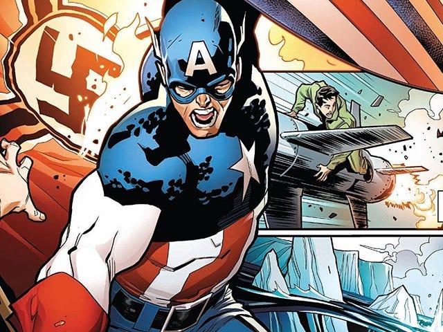Marvel Comics se está duplicando en su cruzada equivocada para seguir siendo 'apolítico', y está utilizando al Capitán América para hacerlo
