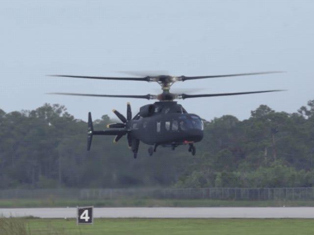 Así fue el primer vuelo delSB-1 Defiant, un helicóptero extremadamente rápido que podría reemplazar al Black Hawk