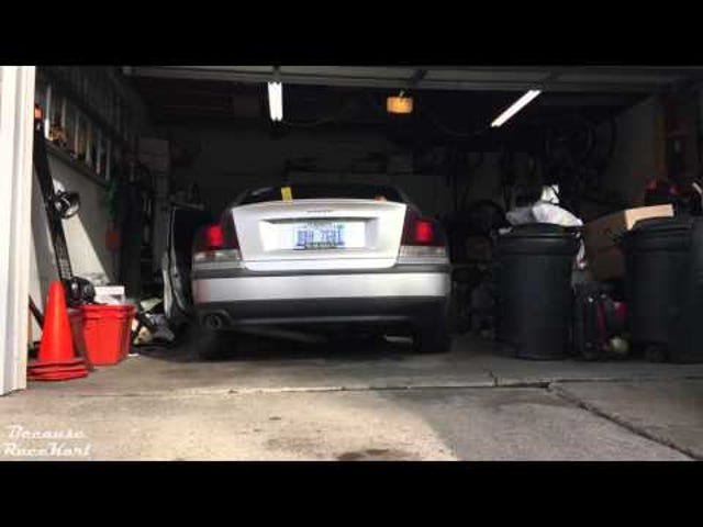 The sound of a straight piped S60R