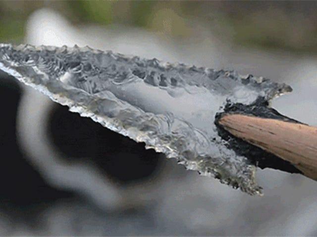 Cómo tallar puntas de flecha de cristal en delir de botella y casi sin herramientas