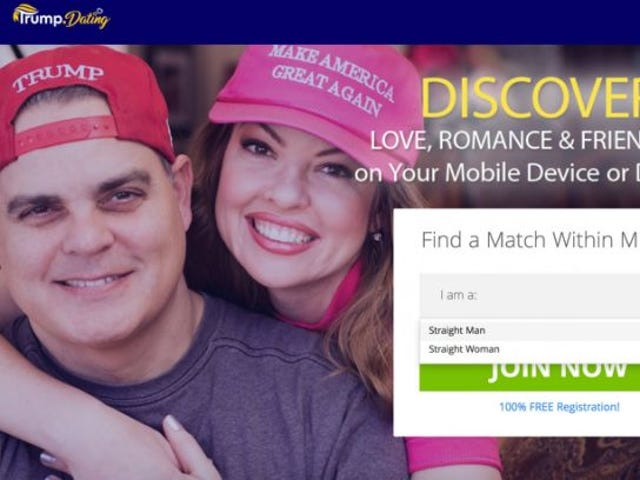 Down for Some Biased Boning and Nationalistic Nookie? Try These Dating Apps for Trump Supporters